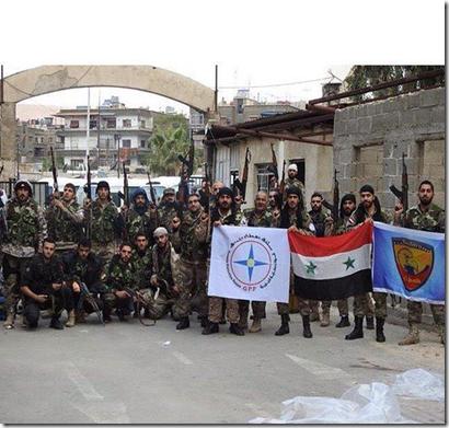 Assyrische soldaten - Syrië - 11-2015