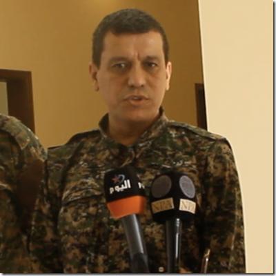 Ferhat Abdi Sahin alias Mazloum Abdi alias Mazloum Kobani