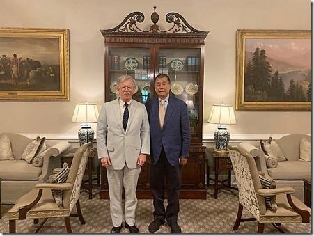 Jimmy Lai met John Bolton