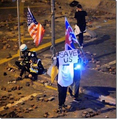 Opstandelingen vragen hulp VS en VK