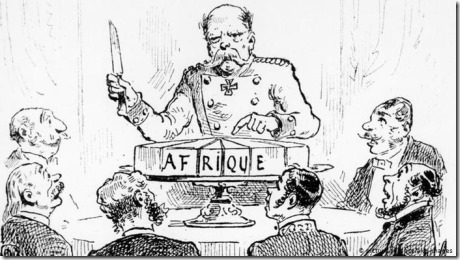 Verdeling Afrika - 1884-1885 - Berlijn
