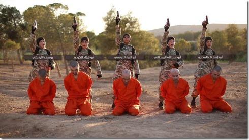 ISIS - kinderen doen executies - 26-08-2016
