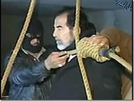 Saddam Hoessein - Ophanging