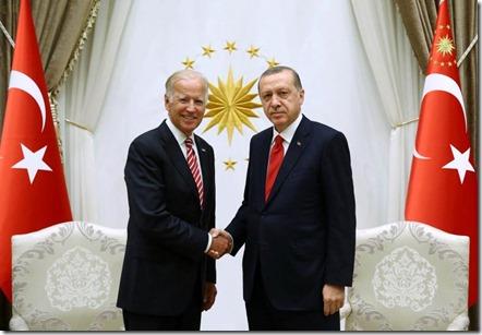 Joe Biden & Recep Tayyip Erdogan - 25 augustus 2016 - 1