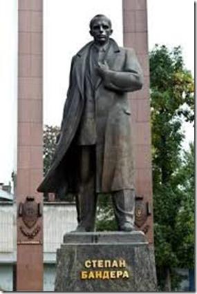 Standbeeld Stepan Bandera