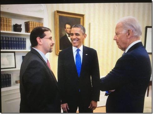 Daniel Shapiro, Barack Obama en Joe Biden