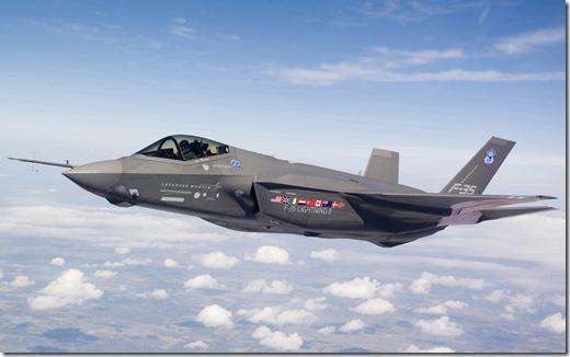 F35 - Lockheed-Martin-Lightning-II
