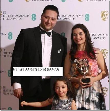 Hamza Kataeb en Nour Din al Zinki - Bafta - 4