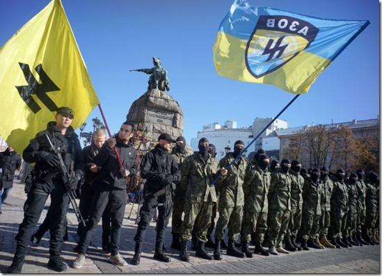 Azov Bataljon - Vlaggen