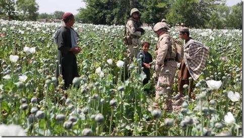 Amerikaanse mariniers in de provincie Helmand in 2011