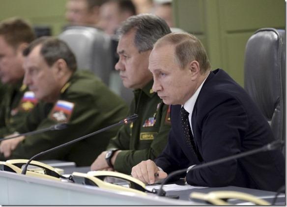 Oorlogskamer - Russisch leger - Vladimir Poetin - 19-11-2015 - 1