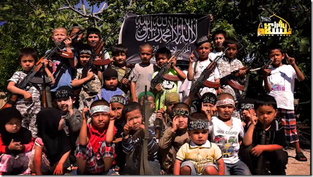 Oeigoeren TIP - Kinderen in Syrië