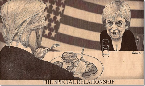Theresa May en Donald Trump - The Special Relationship