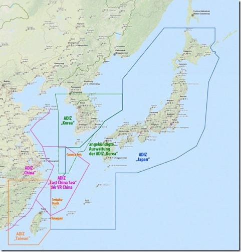 Luchtverdedigingsidentificatiezone Taiwan